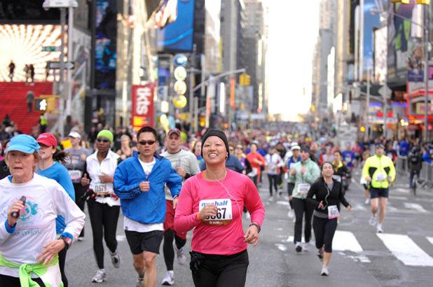 New York City Half Marathon...Amazing Race (2/2)