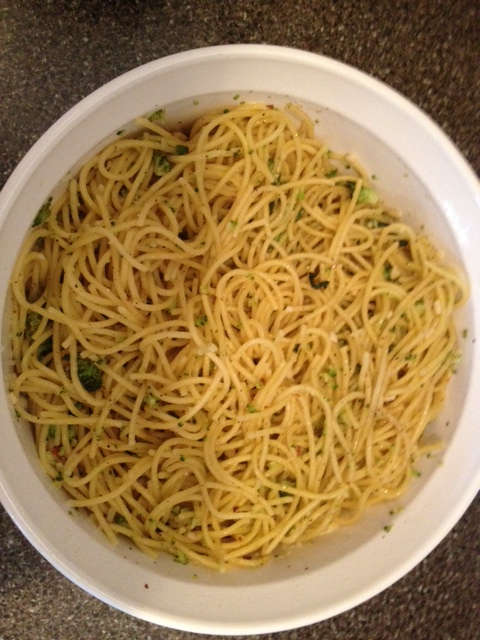 Richard Blais's Spaghetti  with Broccoli Pesto