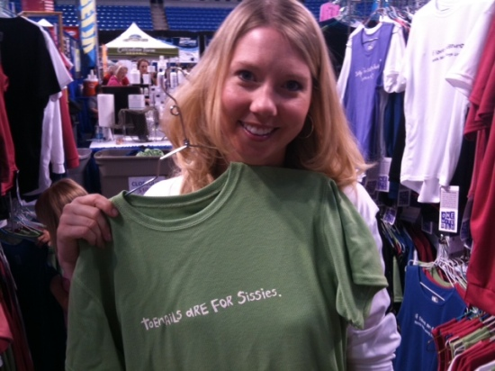 Good friend, Angie Castle - marathoner extraordinaire!