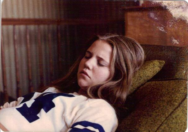 Mary also sent this one of me snoozing - band wore me out.  6:30- practice every morning.  I loved it though.